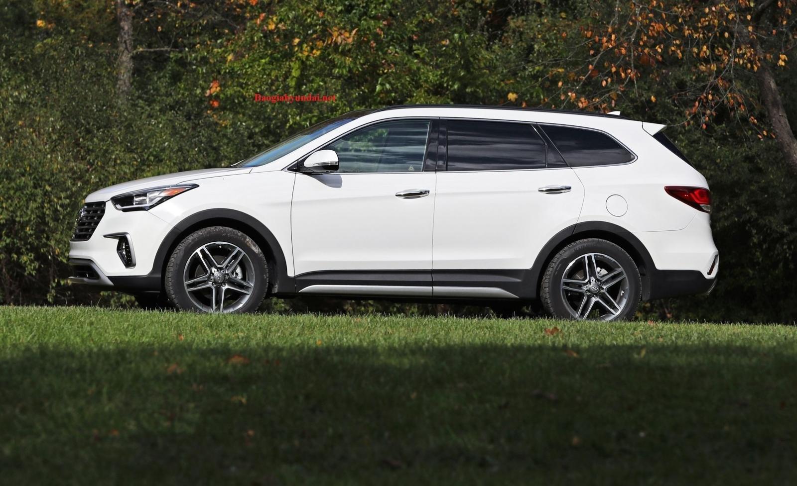 Đánh giá xe Hyundai SantaFe về thiết kế ngoại thất - 2