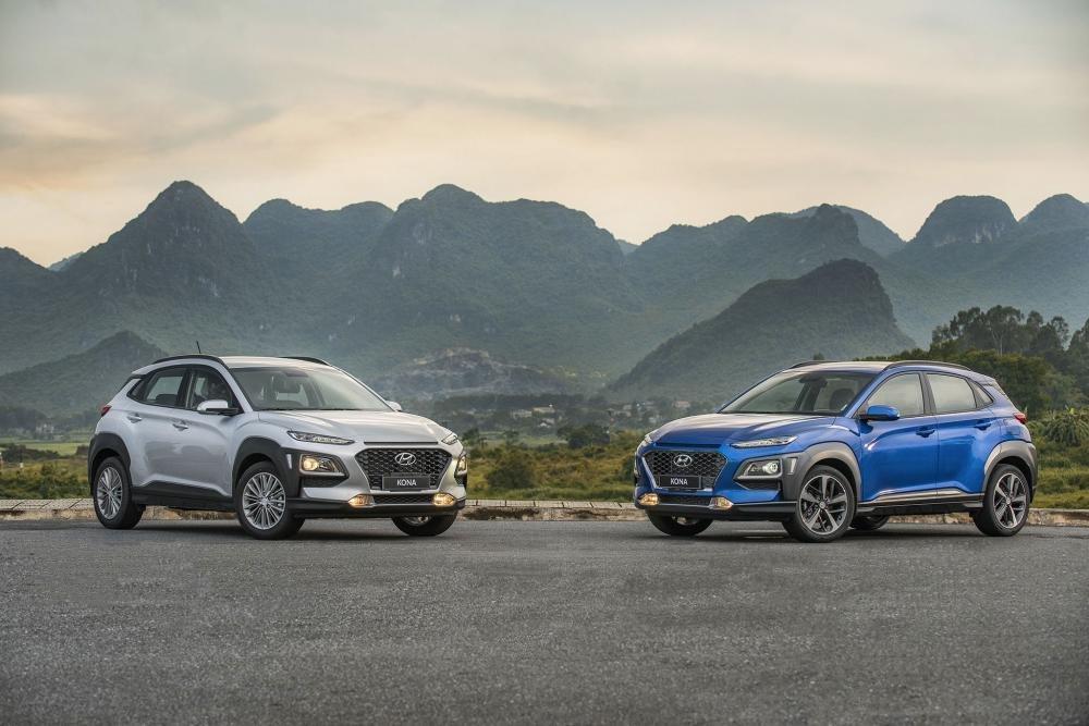 So sánh xe Ford Ecosport và Hyundai Kona