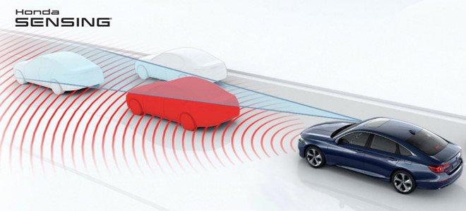 Honda Civic đang trang bị rất nhiều công nghệ an toàn