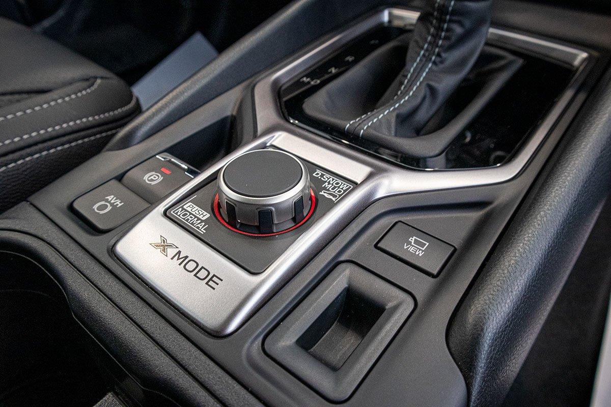 Ảnh chụp Cụm điều chỉnh thông tin xe Subaru Forester 2019-2020