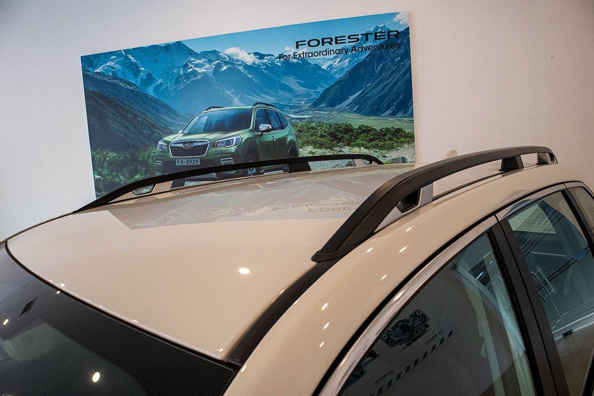 Ảnh chụp giá nóc xe Subaru Forester 2019-2020