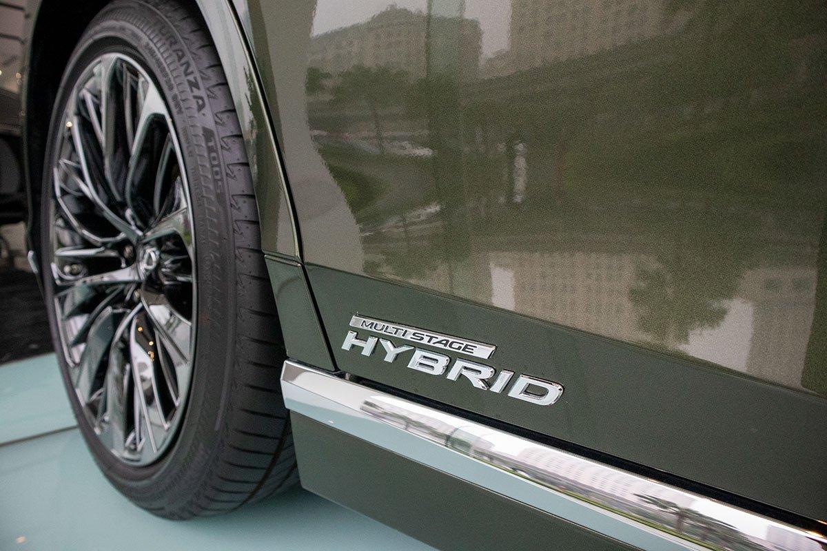 Ký hiệu bản điện xe Lexus LS500h 2020