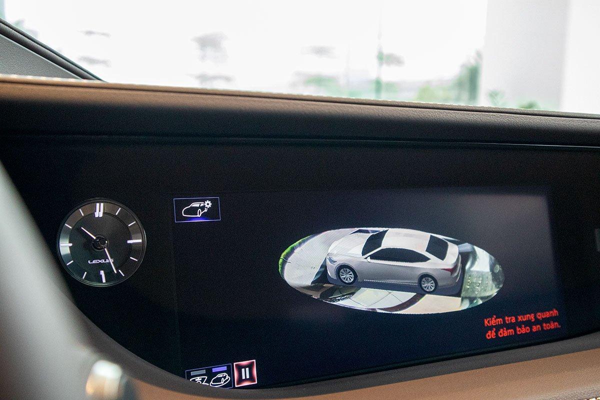 Camera 360 độ xe Lexus LS500h 2020
