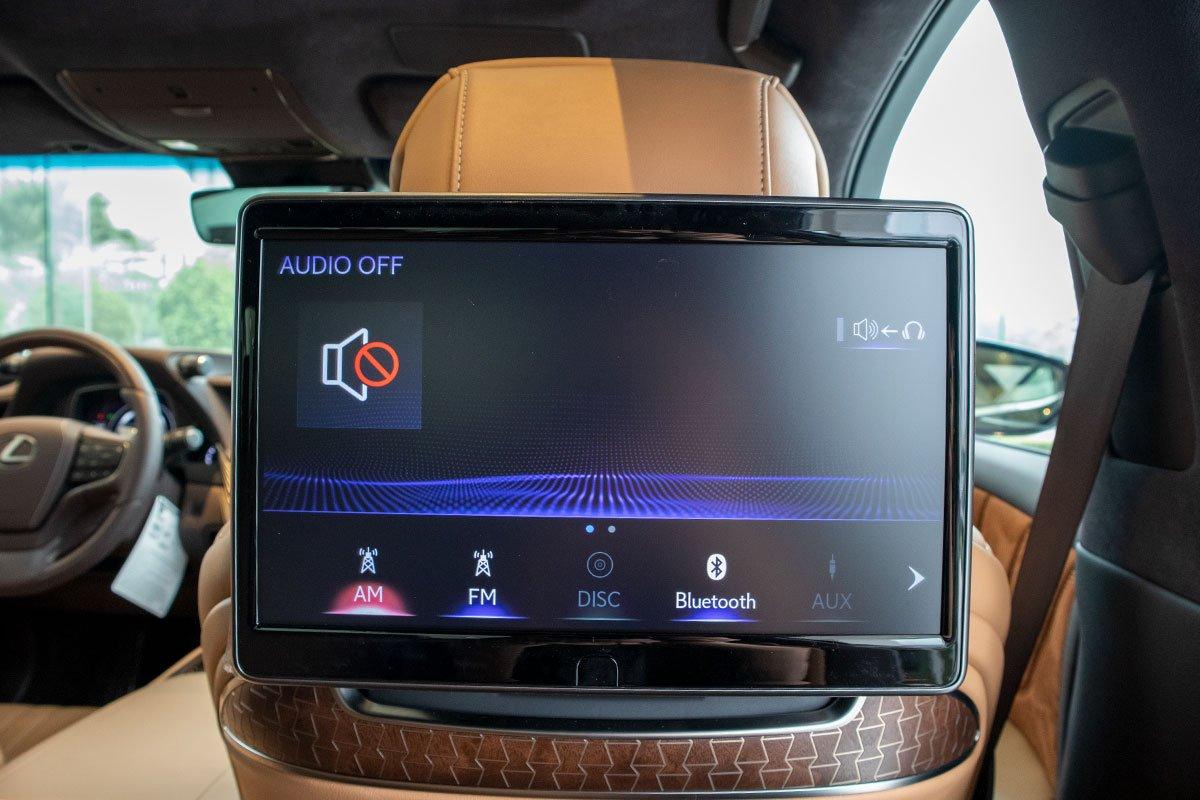 Màn hình xe Lexus LS500h 2020