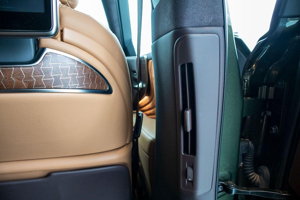 Cửa gió điều hoà xe Lexus LS500h 2020