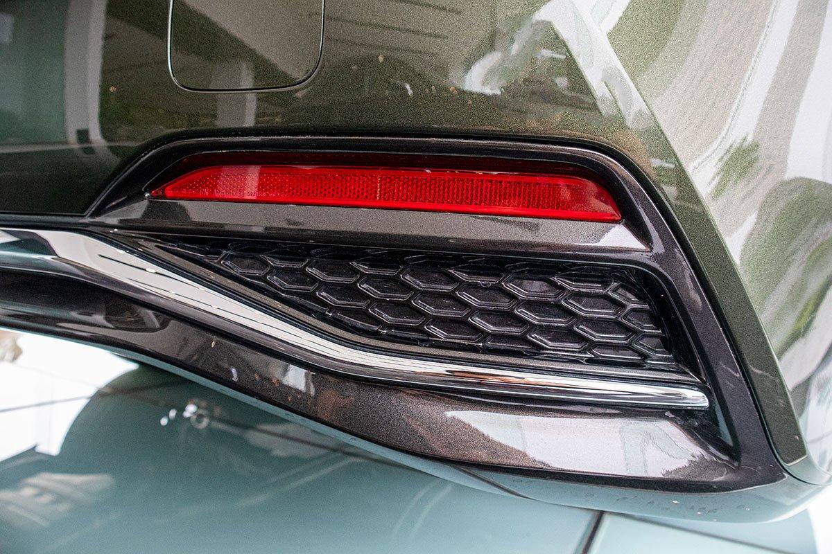 Giả ống xả xe Lexus LS500h 2020