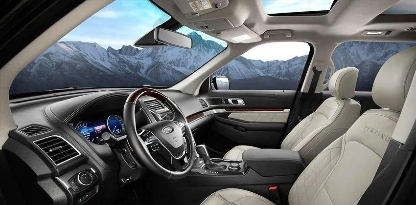 Những điểm cuốn hút người mua xe Ford Explorer - Công nghệ tân tiến