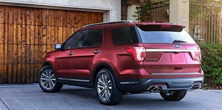Những điểm cuốn hút người mua xe Ford Explorer - Đảm bảo vượt qua các thử thách trên đường