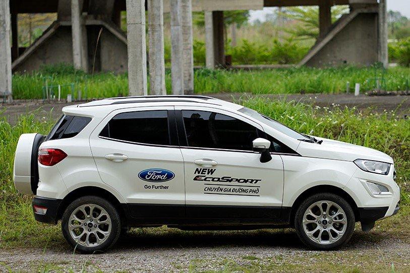 Thiết kế thân xe Ford EcoSport 2020 1