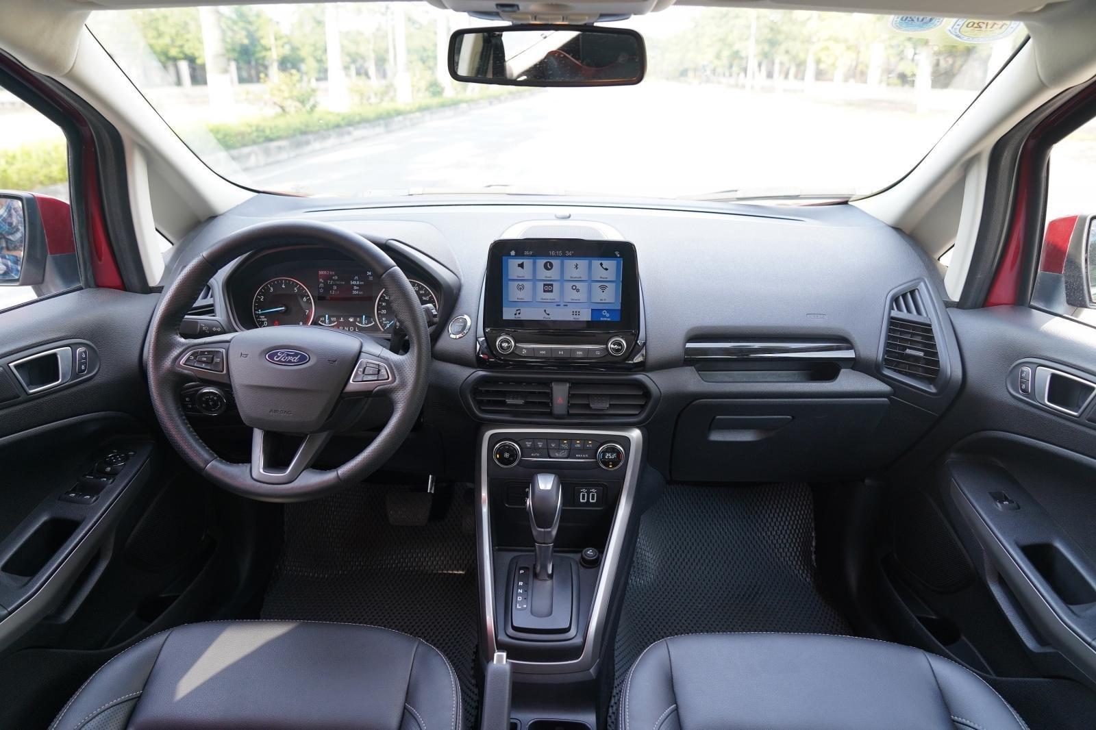 Thiết kế khoang nội thất xe Ford EcoSport 2020 1