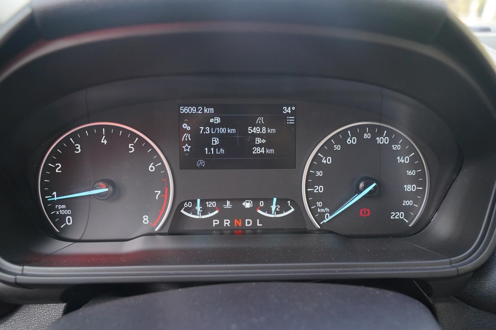 Đồng hồ lái của xe Ford EcoSport 2020 1