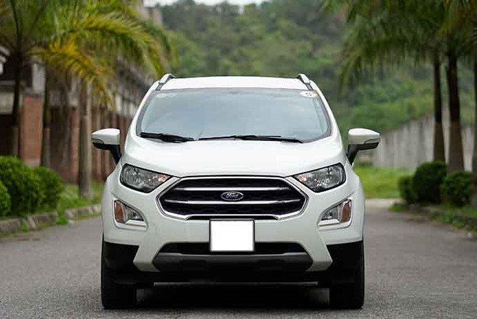 Thiết kế đầu xe Ford EcoSport 2020 1