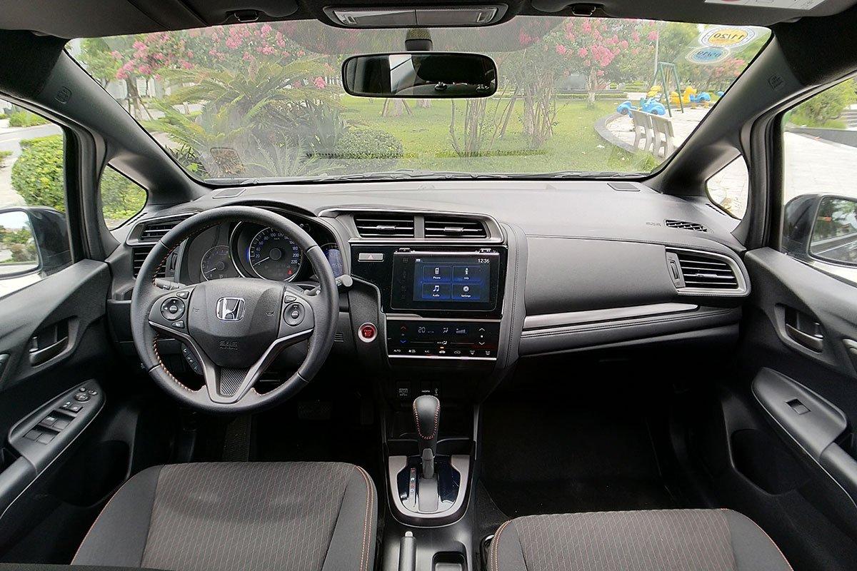 Thiết kế khoang nội thất Honda Jazz 2020 1