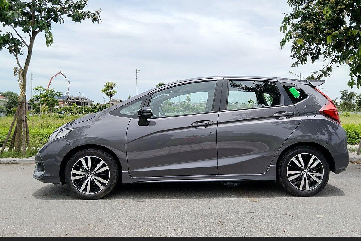 Thiết kế thân xe Honda Jazz 2020 1
