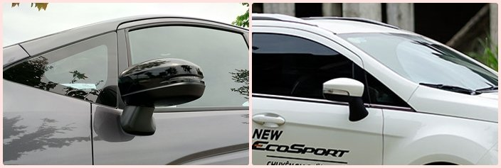 Honda Jazz 2020 và Ford EcoSport 2020 có những đường gân dập nổi đậm chất thể thao a1