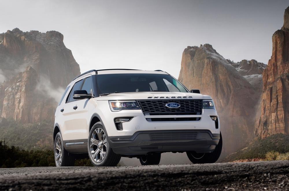 Ford Explorer giảm giá tới 75 triệu đồng.