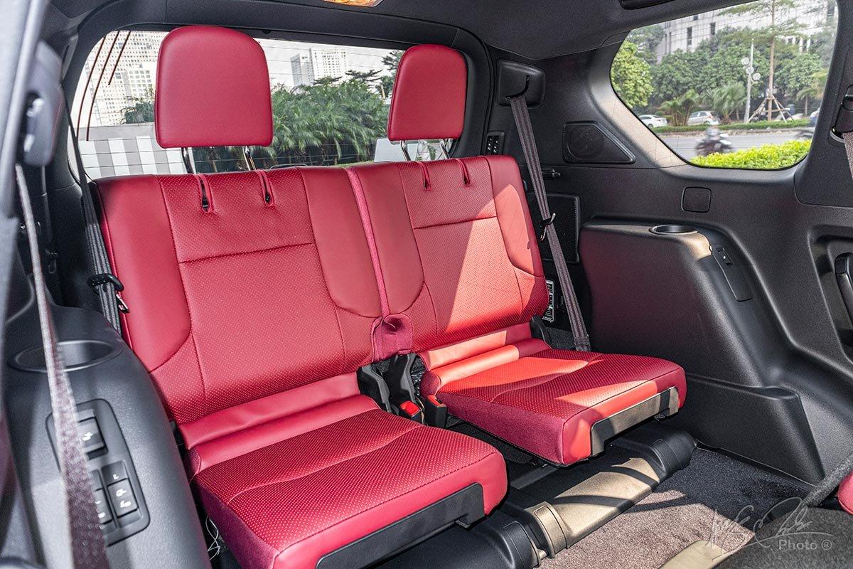 Đánh giá xe Lexus GX 460 2020: Ghế hành thứ 3.