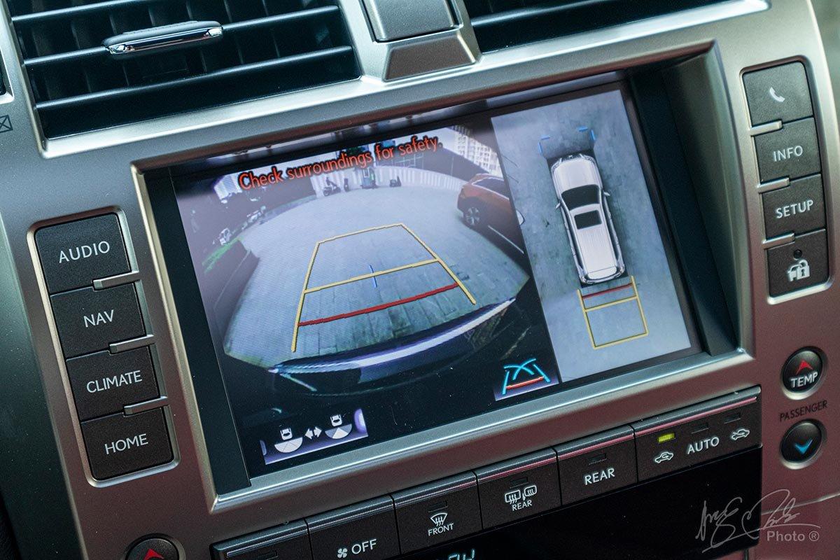 Đánh giá xe Lexus GX 460 2020: Camera 360.