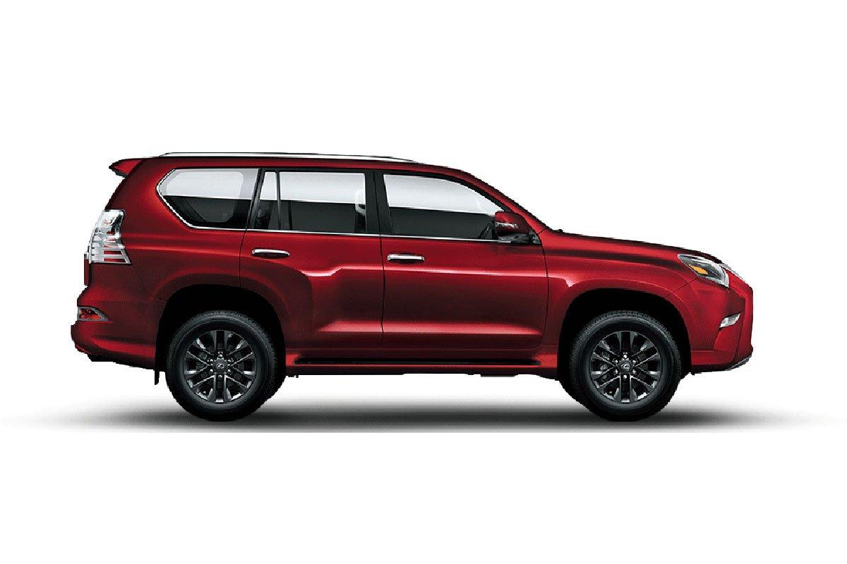 Đánh giá xe Lexus GX 460 2020 - Màu Đỏ.