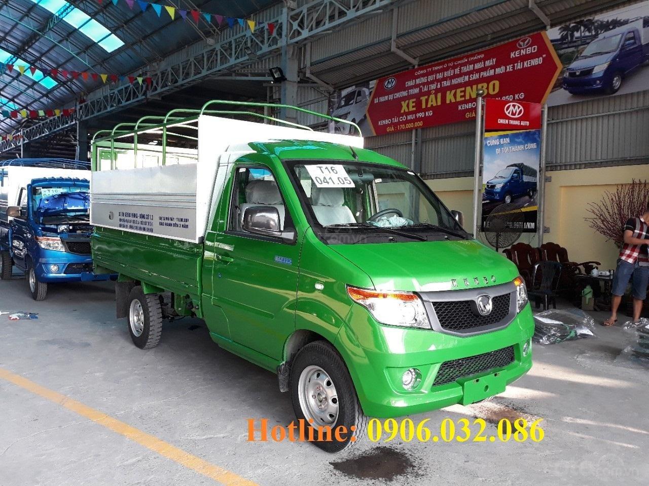 Bán xe tải Kenbo mui bạt tại Thái Bình (1)