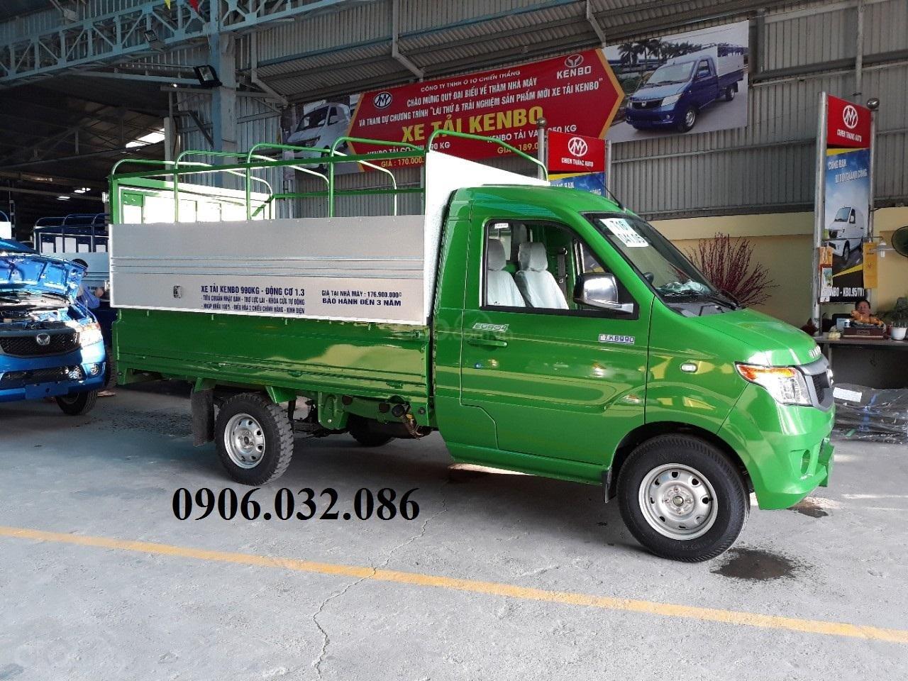 Bán xe tải Kenbo mui bạt tại Thái Bình (2)