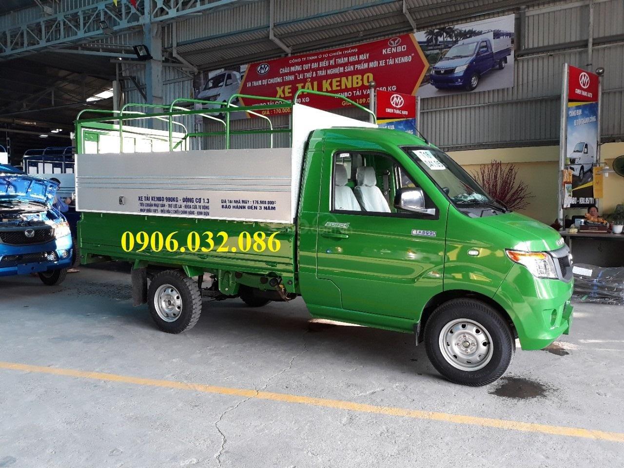 Bán xe tải Kenbo mui bạt tại Thái Bình (5)