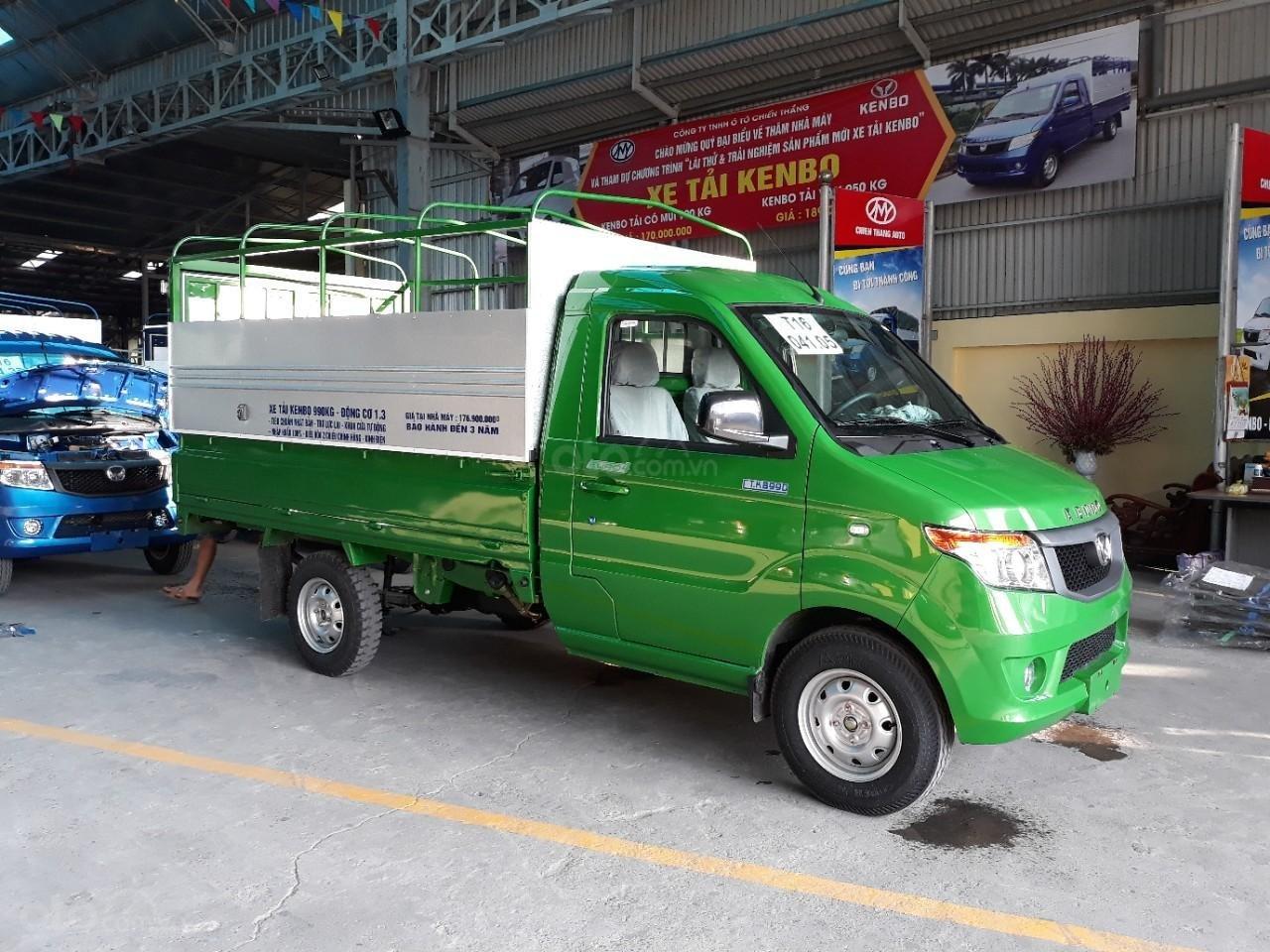 Bán xe tải Kenbo mui bạt tại Thái Bình (6)