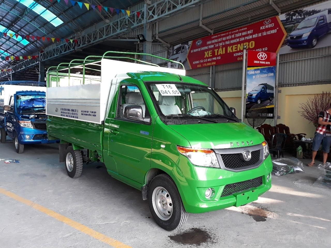 Bán xe tải Kenbo mui bạt tại Thái Bình (7)