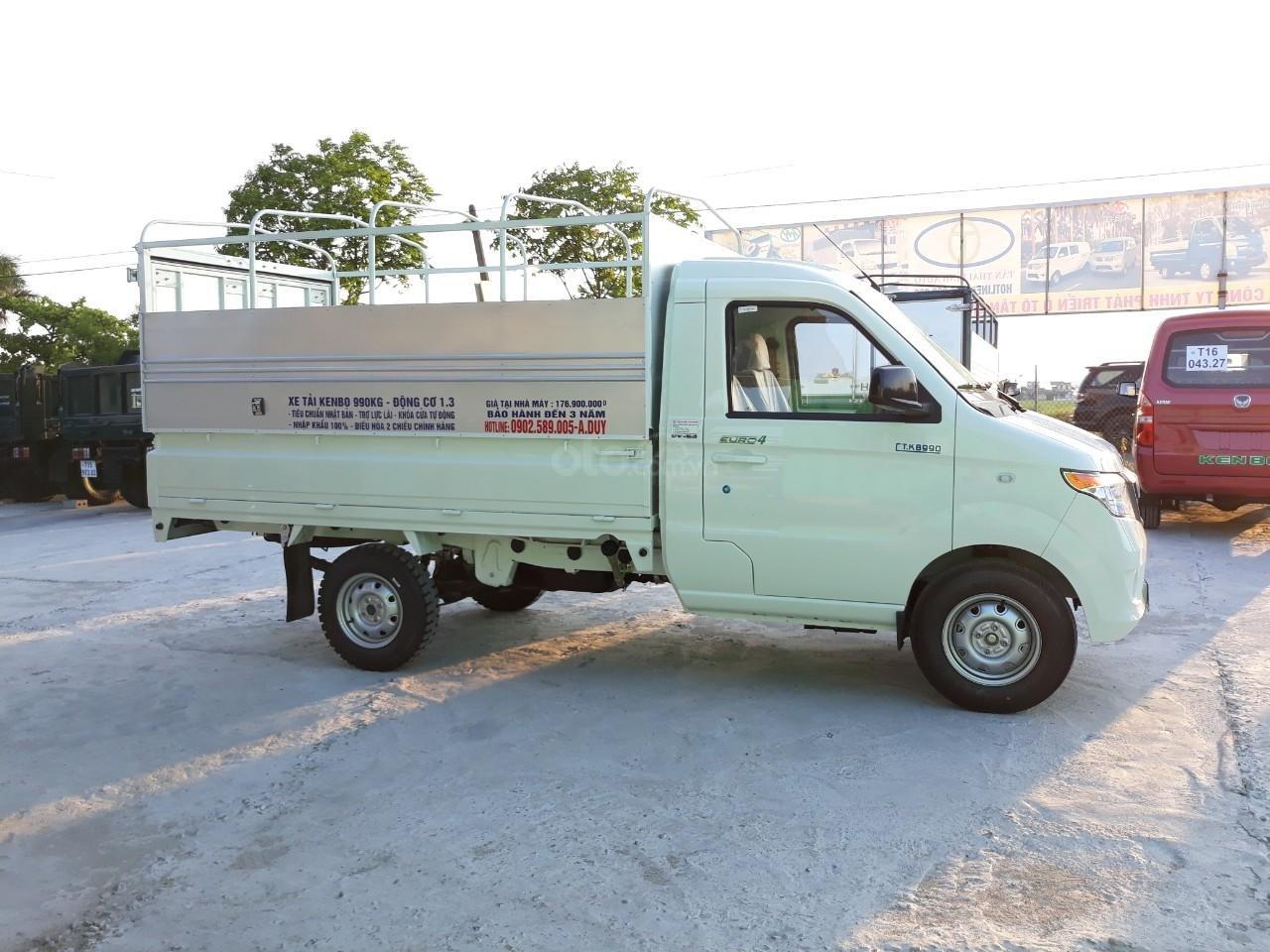 Đại lý xe tải Kenbo 990kg, màu trắng (4)
