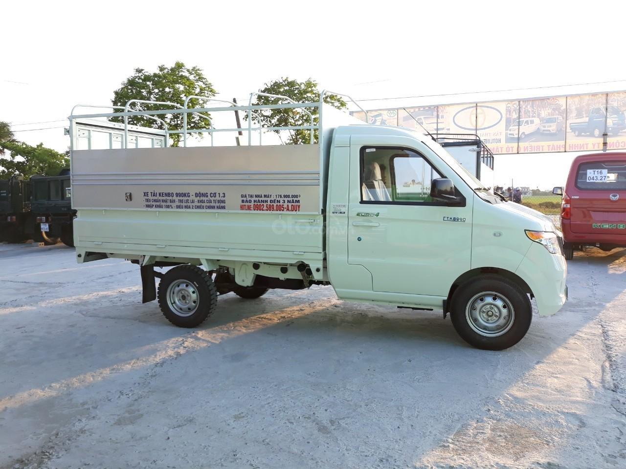 Đại lý xe tải Kenbo 990kg, màu trắng (2)