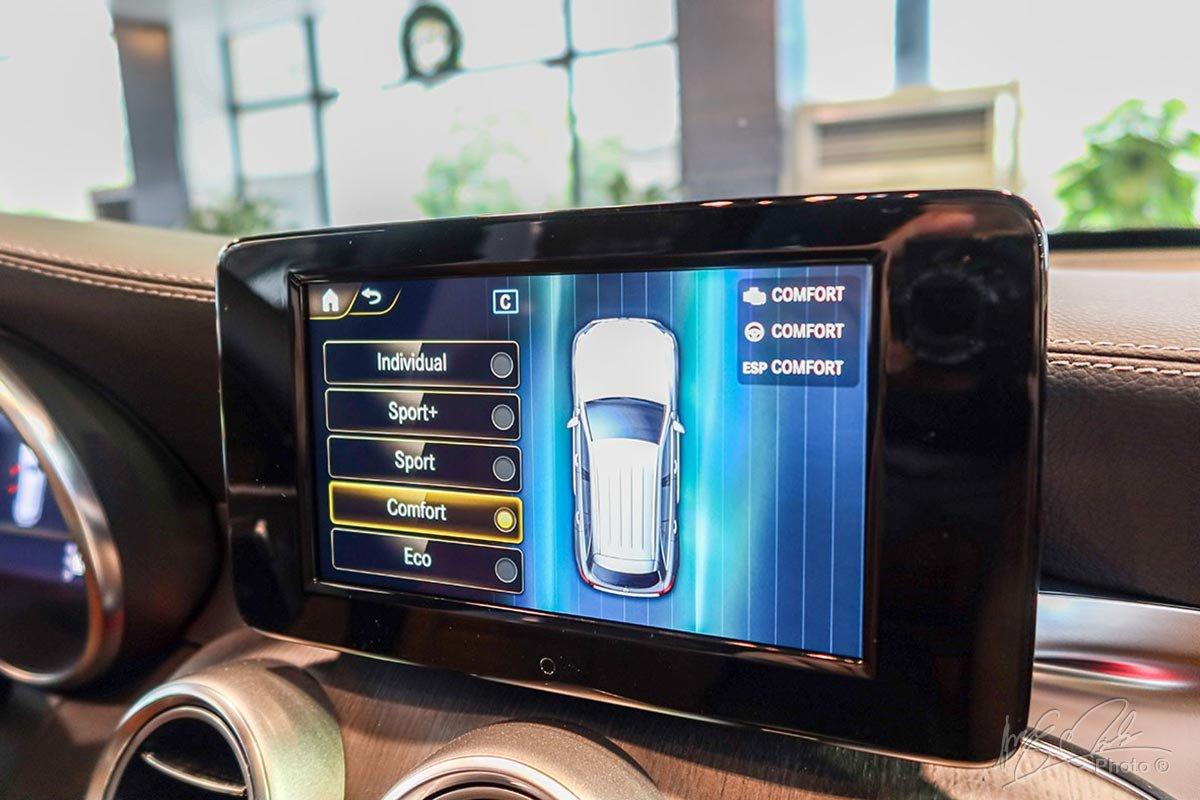 5 chế độ lái tuỳ chọn trên Mercedes-Benz GLC 2020.