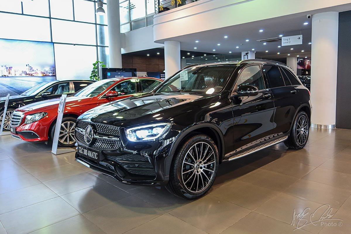 Mercedes-Benz GLC 2020 được nhập khẩu nguyên chiếc từ Đức.