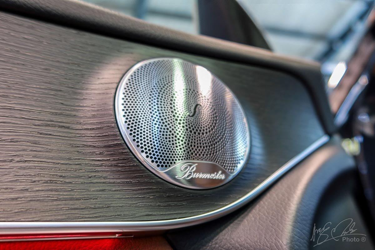 Hệ thống âm thanh Bumester 13 loa trên Mercedes-Benz GLC 2020.