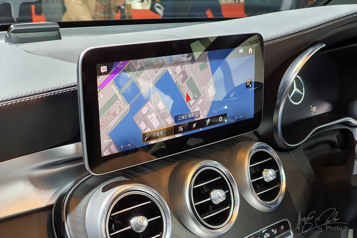 Đáng tiếc là màn hình giải trí 12,3 inch đã không xuất hiện trên Mercedes-Benz GLC 2020.