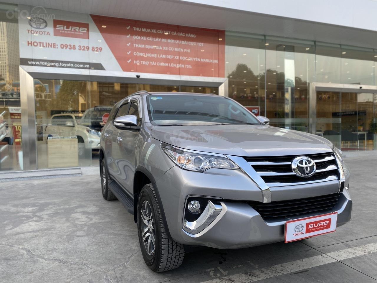 Bán Toyota Fortuner 2.7V 4x2 AT 2017, màu bạc, nhập khẩu, đi 23.000km giá 970tr (2)