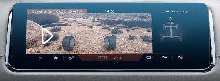 Ảnh chụp màn hình xe Range Rover Evoque 2020