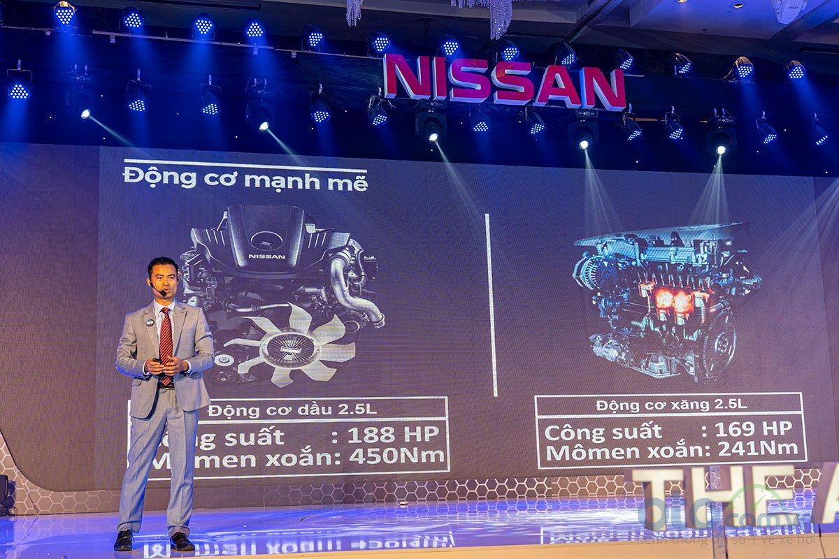 Ảnh chụp động cơ xe Nissan Terra 2020