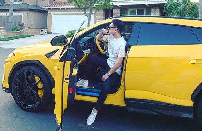 """Soi"" siêu SUV Lamborghini Urus mới tậu của con trai Bầu Hiển a1"