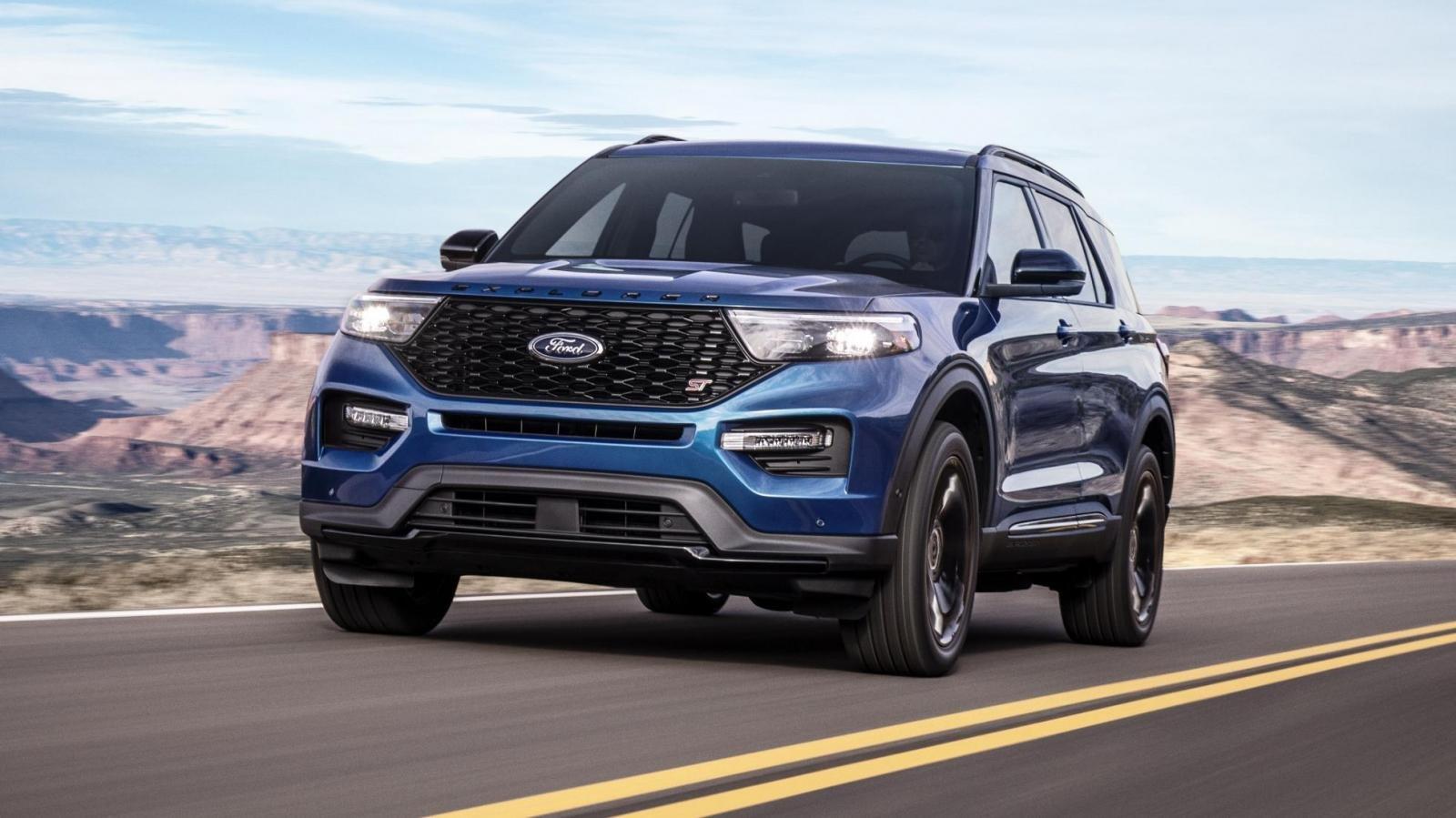 Ford Explorer 2020 đã về nước, Ford Việt Nam vẫn kín tiếng a6