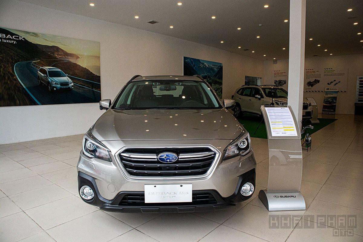 Thông số kỹ thuật xe Subaru Outback 2020 dành cho thị trường Việt