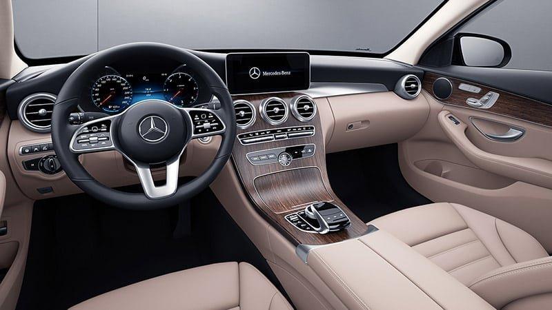 Nội thất xe Mercedes C200