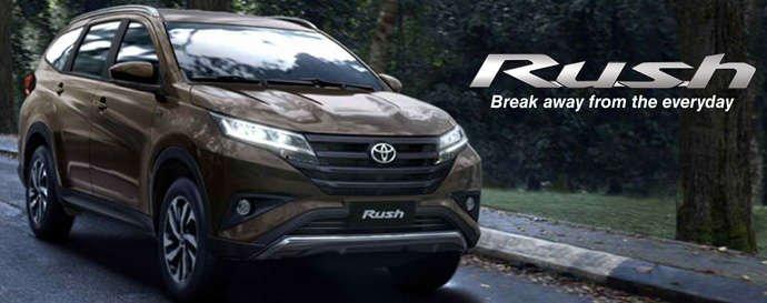 Ngoại thất xe Toyota Rush