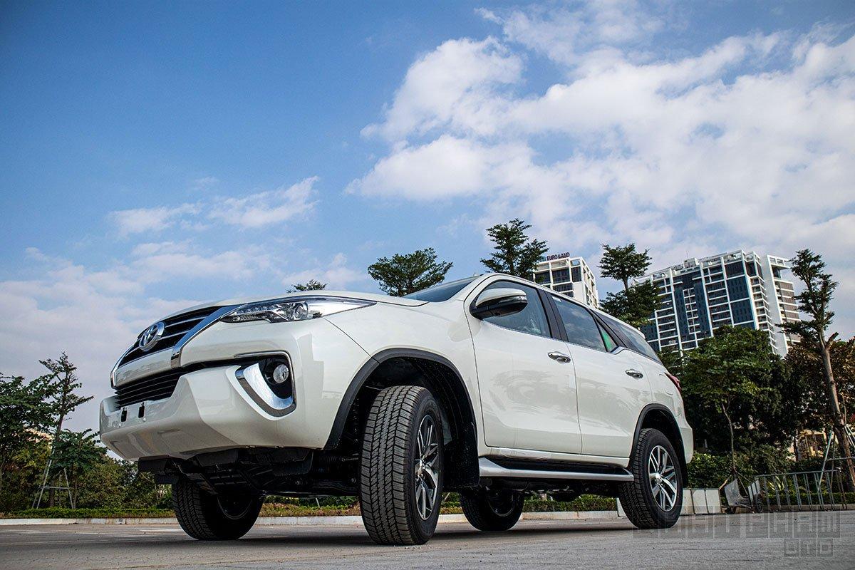 Ảnh chụp trước xe Toyota Fortuner 2020