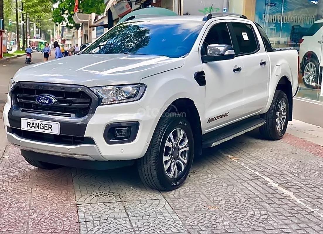 Bán ô tô Ford Ranger, màu trắng, siêu ưu đãi nhân dịp chào Xuân - LH 0971261796 (1)