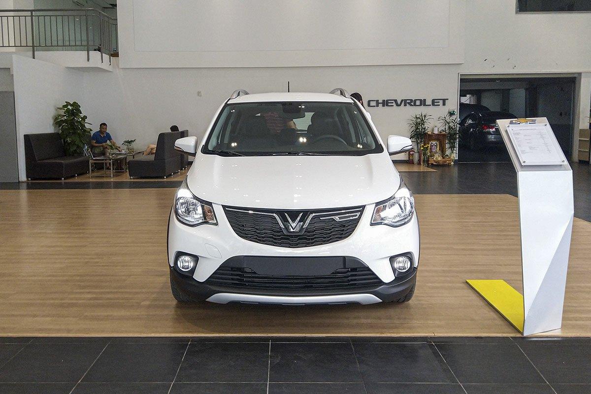 Đánh giá xe VinFast Fadil 2019: Đầu xe.