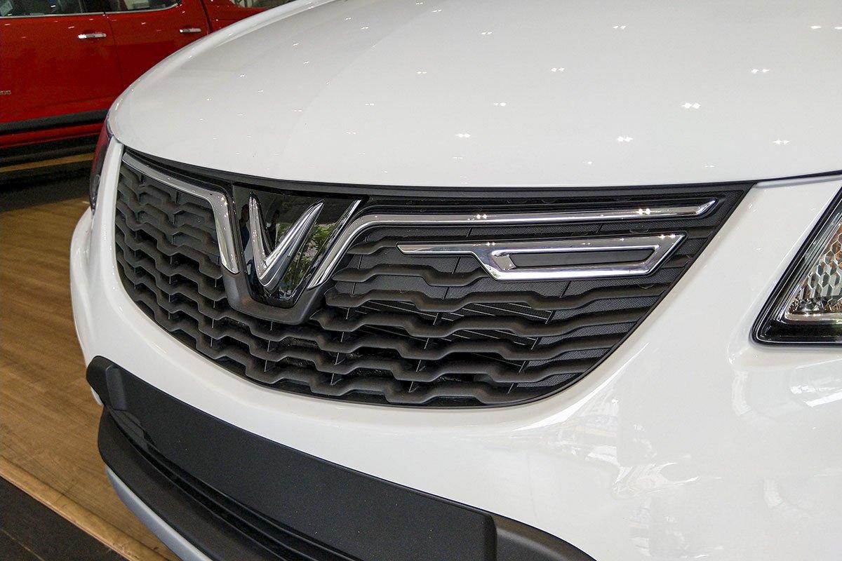 Đánh giá xe VinFast Fadil 2019: Lưới tản nhiệt.