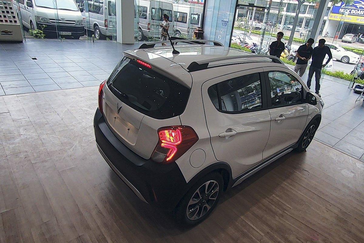 Đánh giá xe VinFast Fadil 2019: Cụm đèn hậu LED.