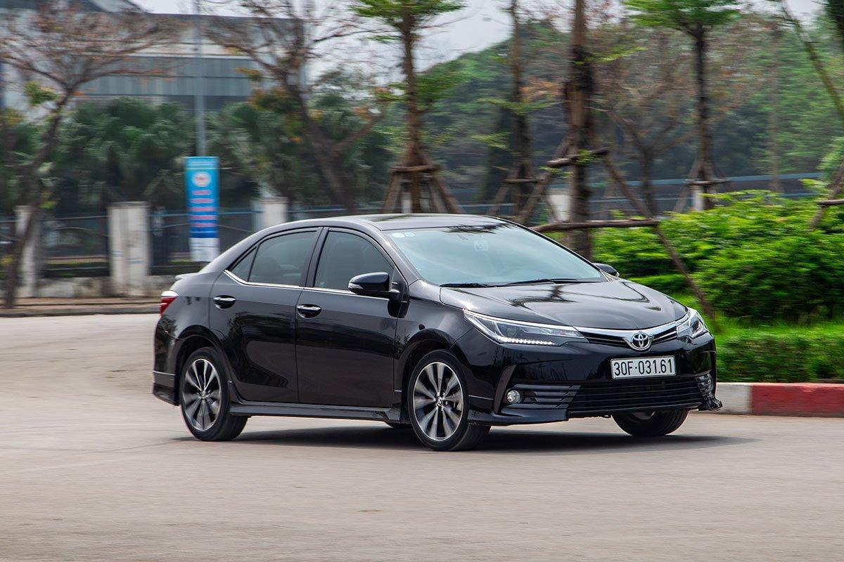 Toyota Corolla Altis đang có dấu hiệu bán tốt trở lại nhờ các đợt khuyến mãi liên tục mà TMV dành cho mẫu xe này.