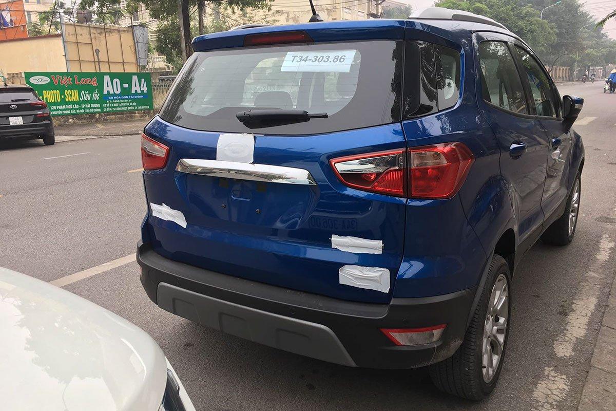 Lốp dự phòng đã bị loại bỏ đối với phiên bản mới Ford EcoSport 2020.