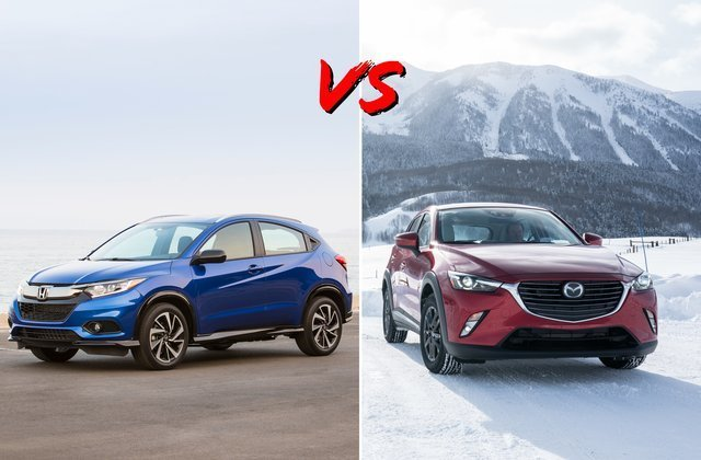 So sánh Honda HR-V và Mazda CX-5